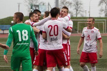 Футбольный клуб «Лида» минимально обыграл «Спутник».